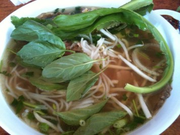 Beef Pho, aka - bowl of steaming goodness