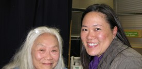Maxine Hong Kingston in Menlo Park