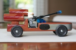 Star Wars Landspeeder Pinewood Derby Car