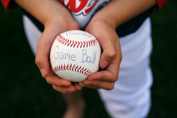LIttle League Game Ball