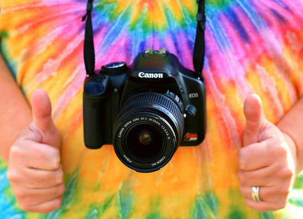 Camera and thumbs up by D Sharon Pruitt, Flickr