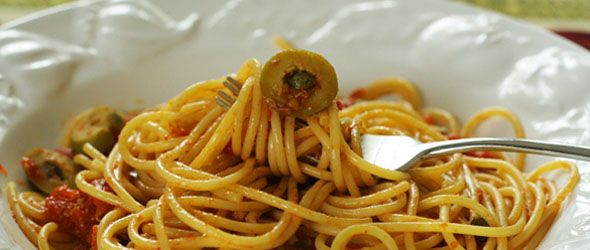 Pasta Puttanesca &#8211; This Spaghetti&#8217;s For Adults Only