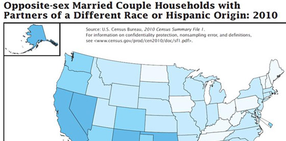 Census Shows Big Increase in Mixed-Race Marriages, Babies&#8230; and Blogs