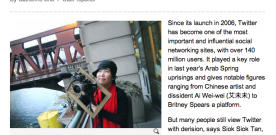 Look, Ma! I'm in the Taipei Times! For Tweeting!