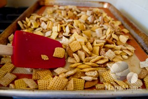 Kung Pao Chex Mix