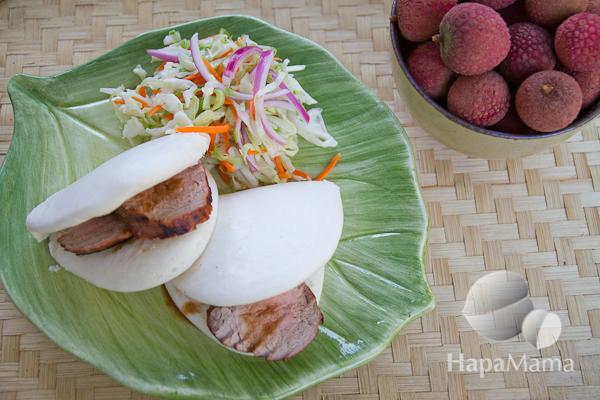 BBQ Pork Tenderloin Bao