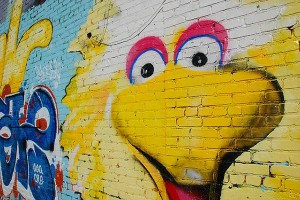 Big Bird mural, in Atlanta Image Credit: Six Two Point of View, Flickr