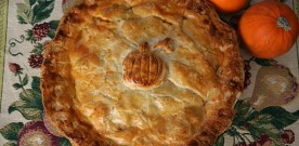 Pumpkin Curry Chicken Pot Pie