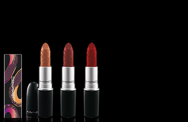 MAC Year of the Snake lipsticks
