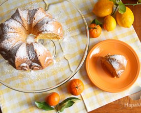 Meyer Lemon and Mandarin Citrus Bundt Cake