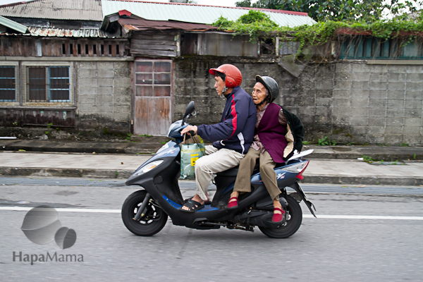 Taiwanese scooter