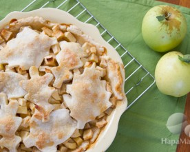 Easy Apple Pie (With Lard Crust)