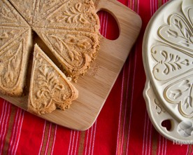 Spiced Shortbread Cookies: Almost Too Pretty to Eat