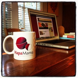 Giveaway! Enter to Win Your Own HapaMama Mug