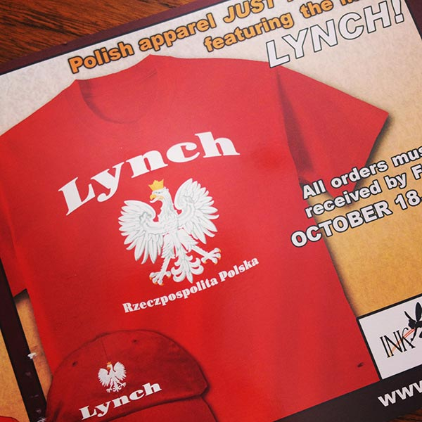 Polish Lynch shirt