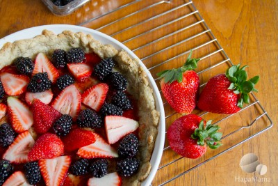Berry Tart With Almond Crust