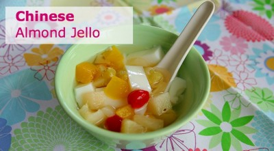 Summer Asian Desserts: Almond Jello