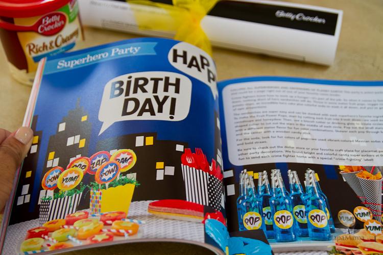 Superhero Birthday Cake Made Easy With Betty Crocker HapaMama - Betty crocker birthday cake