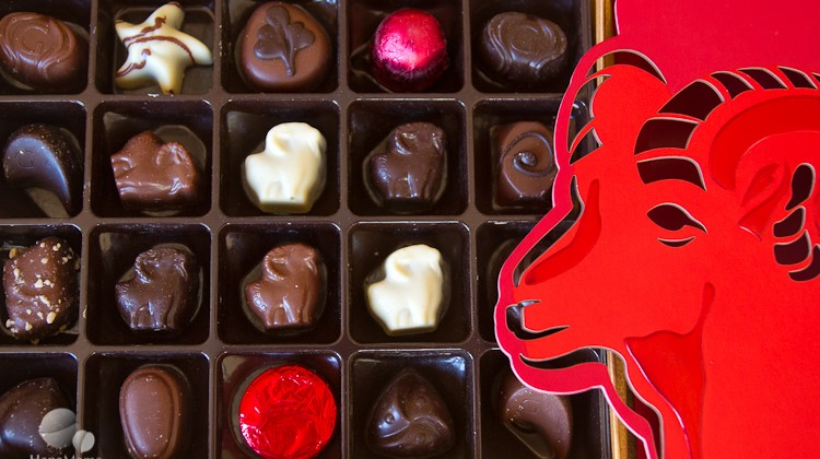 Godiva Year of the Goat chocolates, HapaMama