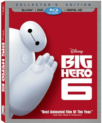 Big Hero BluRay