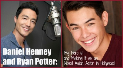 INTERVIEW: Big Hero 6 Actors Ryan Potter and Daniel Henney