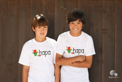 Hapa T-Shirts and Other Clothes For Mixed-Race Families
