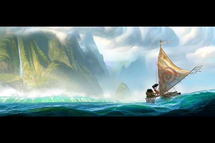 Moana sets sail