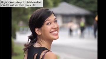 Thai-Italian Lara Needs a Mixed-Race Bone Marrow Donor #Match4Lara