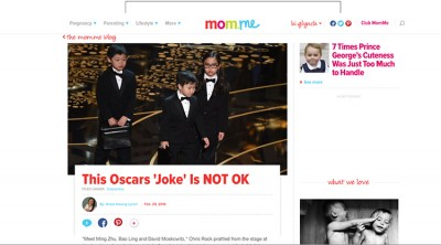 ICYMI: My Thoughts On That Asian Kid Joke At the Oscars