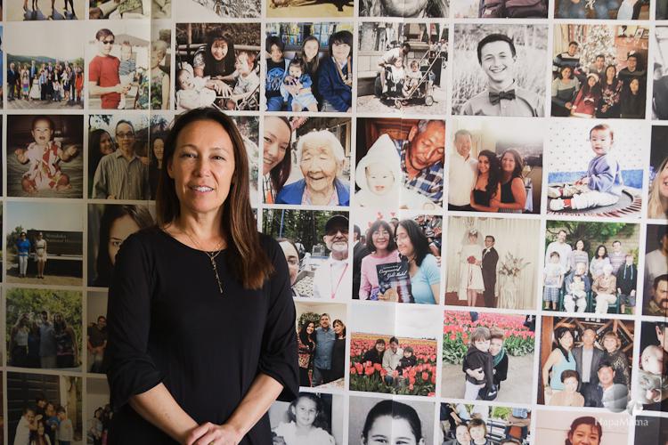 Cinda Nakashima, curator of Visible and Invisible