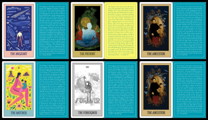 Asian American Tarot Cards