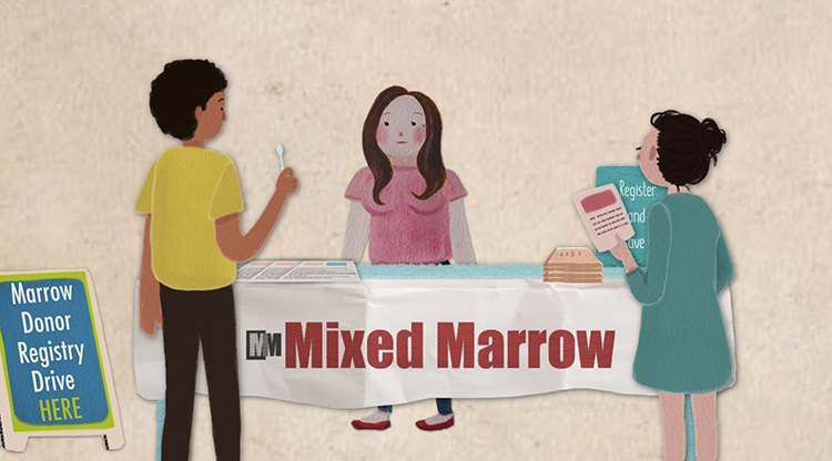 Mixed Marrow animation from Mixed Match film