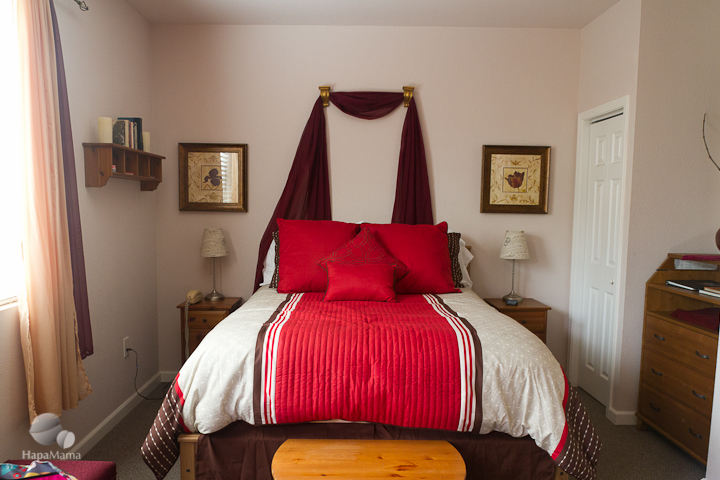 Guest suite at Moshin Vineyards