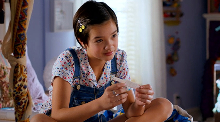 Peyton Elizabeth Lee from Andi Mack