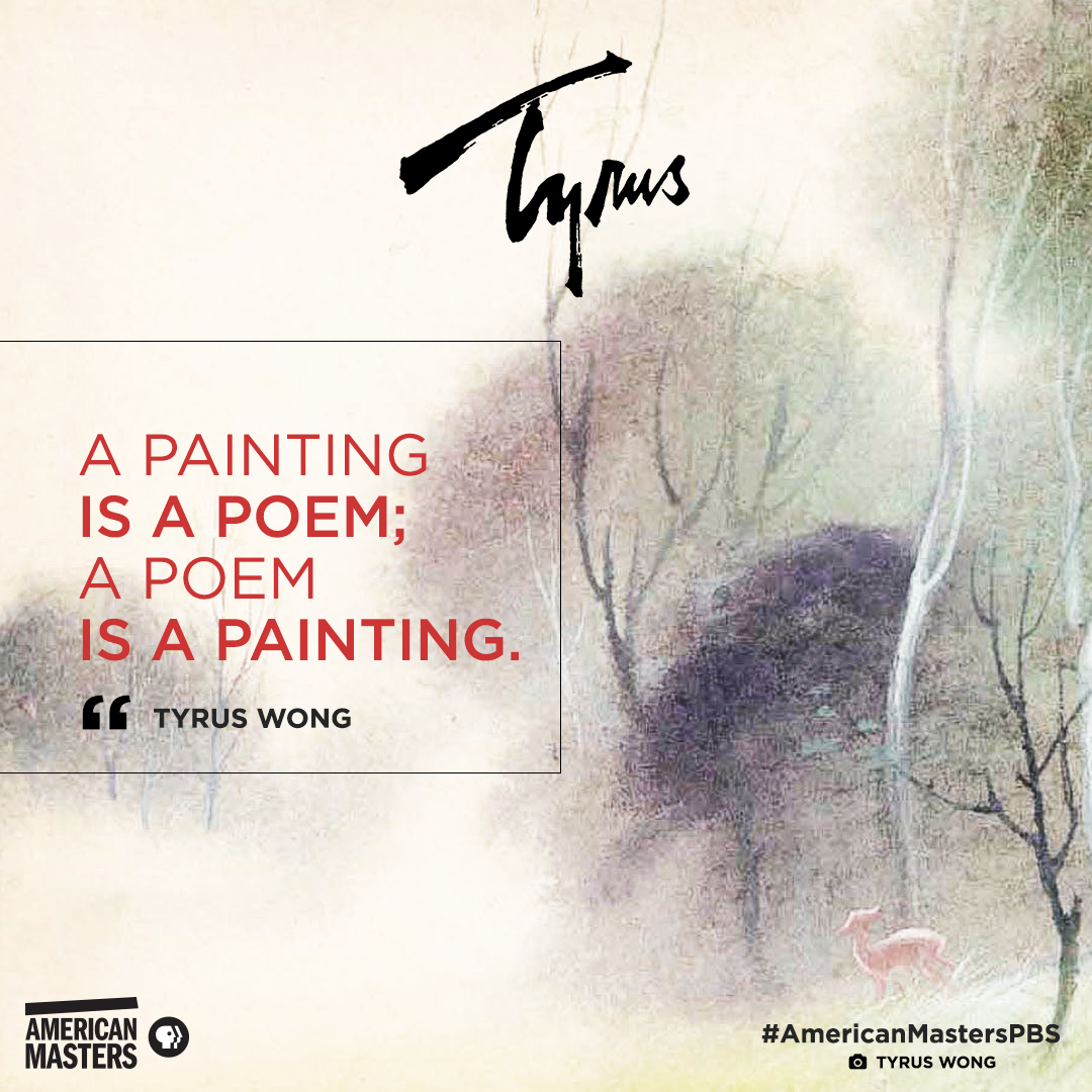 Tyrus Wong quote