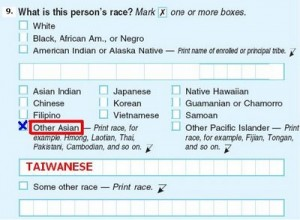 Taiwanese American Groups Encourage Write-In Ethnicity on Census Forms