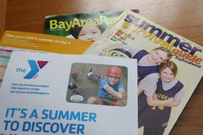 Summer Camp catalogs