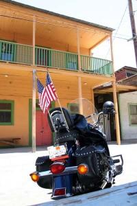 motorcycles in Locke Chinatown