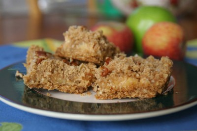 My Golden Delicious and Caramel Apple Bars