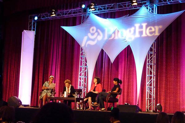 BlogHer conference