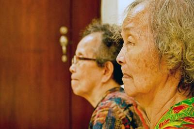Asian old ladies