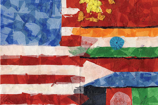 Blending Flags