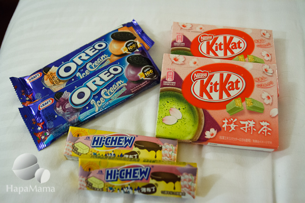 Asian snacks
