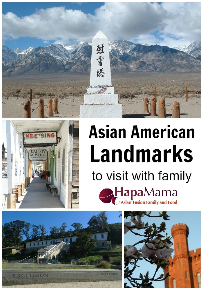 Asian American Landmarks to visit, HapaMama