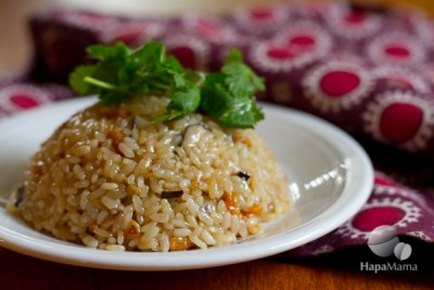 sesame oil rice