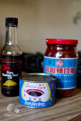 Zha Jiang Mien ingredients