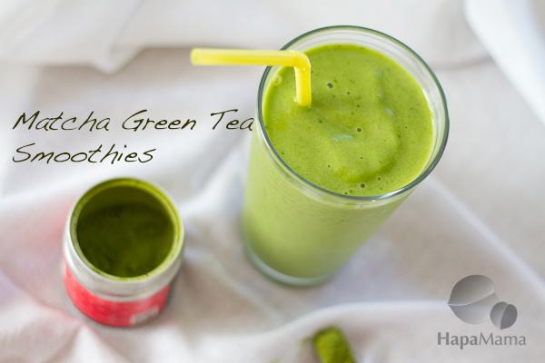 Matcha Green Tea Smoothies