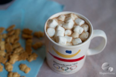 Coconut Hot Chocolate HapaMama