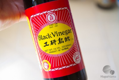 black vinegar - HapaMama