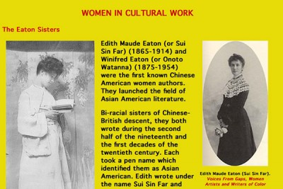 Did You Know The First Asian American Female Authors Were Biracial Sisters?